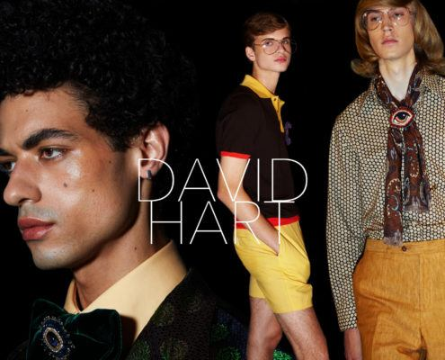 David Hart. Spring/Summer 2019 menswear. Photography by Alexander Thompson for Ponyboy magazine.