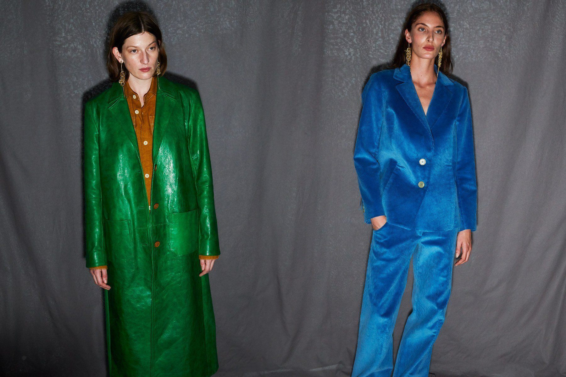 Colorful looks from the Linder Spring/Summer 2019 collection, photographed by Alexander Thompson for Ponyboy magazine.
