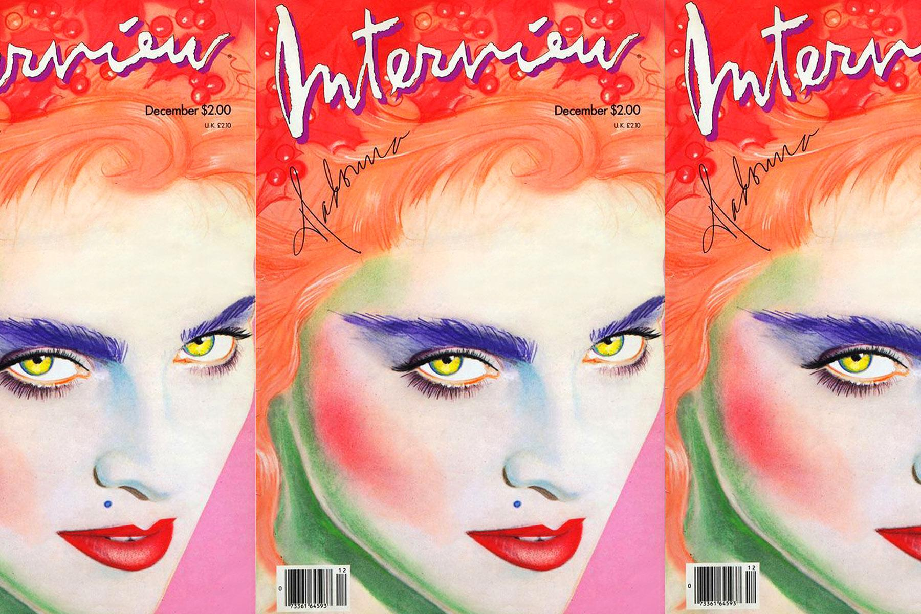 Madonna Interview magazine cover by Richard Bernstein. Starmaker by Roger Padhila & Mauricio Padhila. Rizzoli Books. Ponyboy magazine.