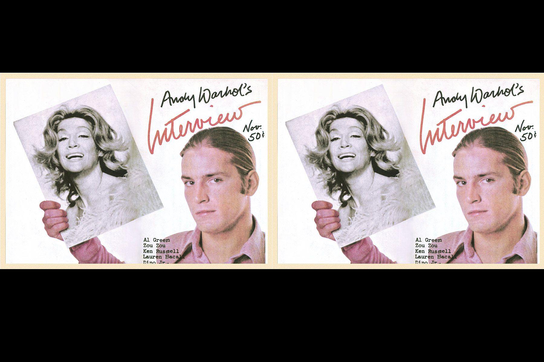 Sylvia Miles and Joe Dallesandro Interview magazine cover by Richard Bernstein. Starmaker by Roger Padhila & Mauricio Padhila. Rizzoli Books. Ponyboy magazine.
