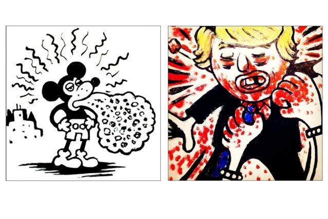 Illustrations by artist Avi Spivak. Ponyboy magazine.
