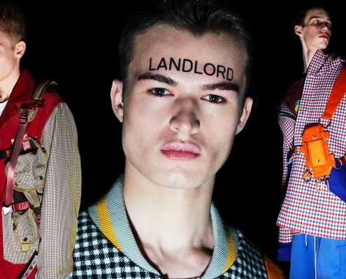 Landlord. Autumn/Winter 2019. Photography by Alexander Thompson for Ponyboy magazine.