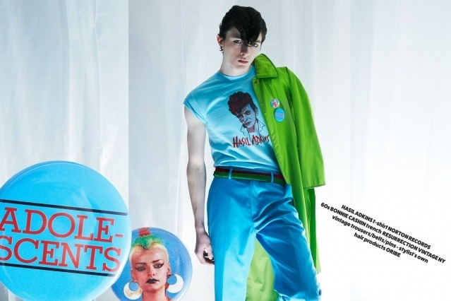 Male model Matthew Bartow in Neat Neat Neat! menswear editorial for Ponyboy magazine. Photography by Alexander Thompson.