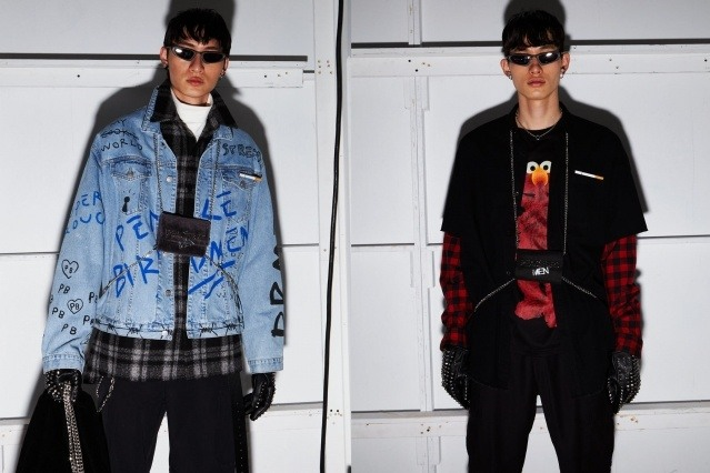The latest from Peacebird menswear, photographed for New York Fashion Week by Alexander Thompson for Ponyboy magazine.