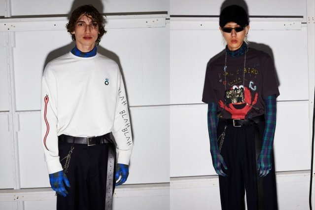 Peacebird menswear photographed for New York Fashion Week by Alexander Thompson for Ponyboy magazine.