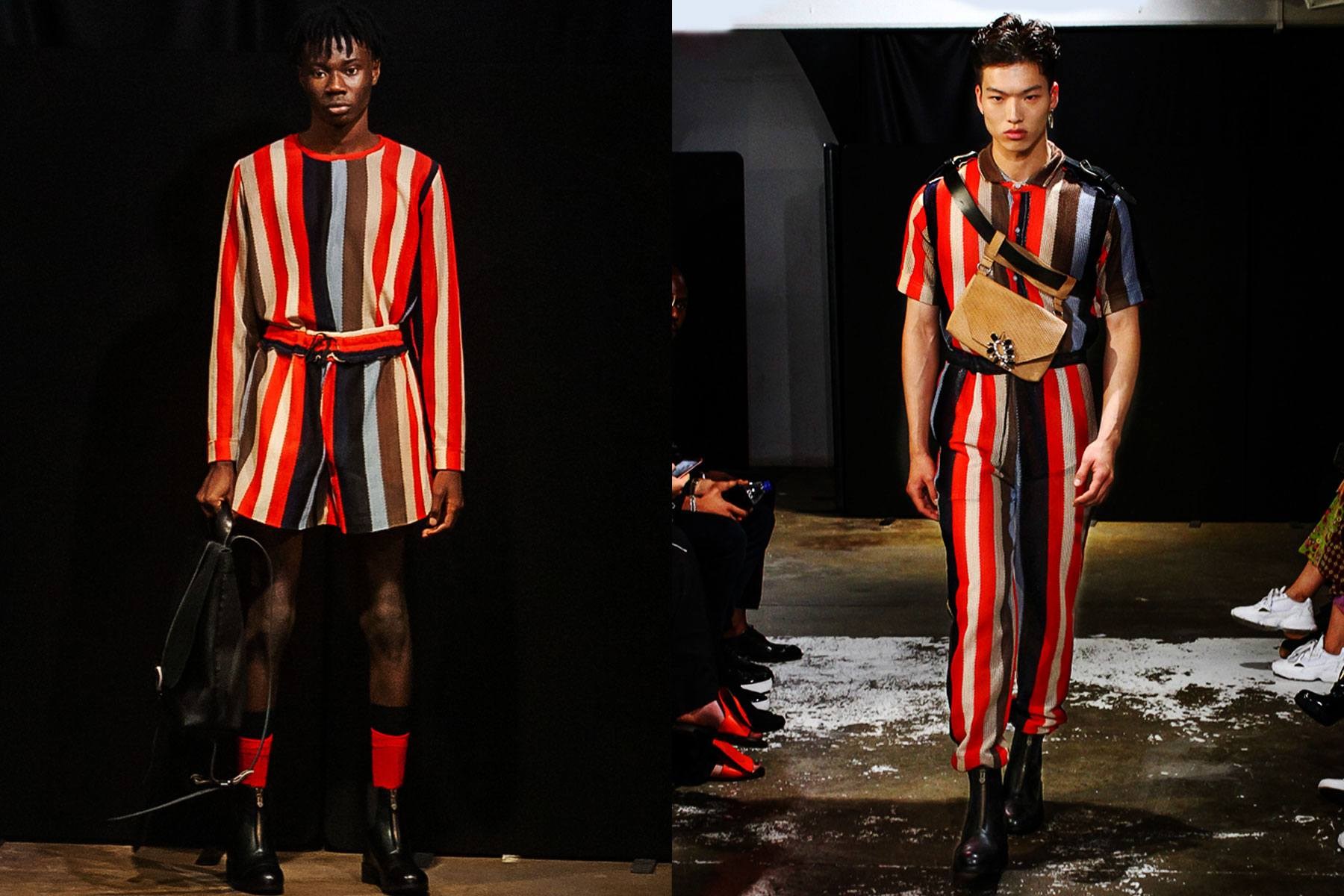 The Tokyo James S/S 2020 menswear runway show at London Fashion Week Men. Ponyboy magazine.