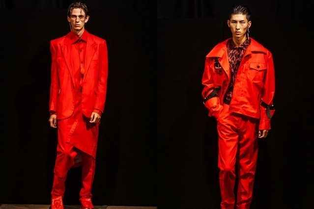 The latest collection from Tokyo James S/S 2020 menswear runway show at London Fashion Week Men. Ponyboy magazine.