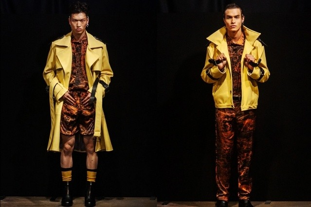The latest collection from Tokyo James Spring/Summer 2020 menswear show at London Fashion Week Men. Ponyboy magazine.