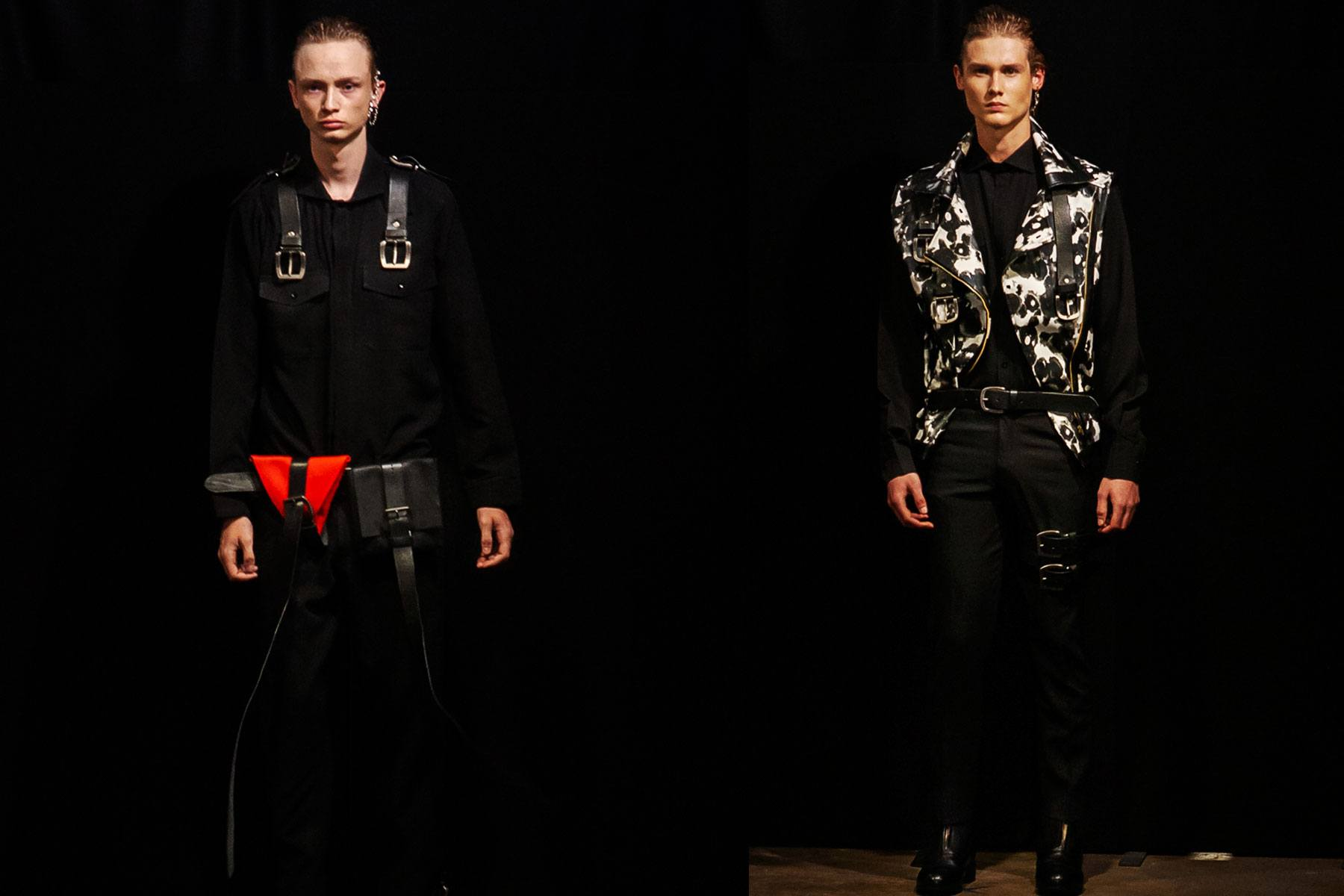 The Tokyo James S/S 2020 menswear show at London Fashion Week Men. Ponyboy magazine.