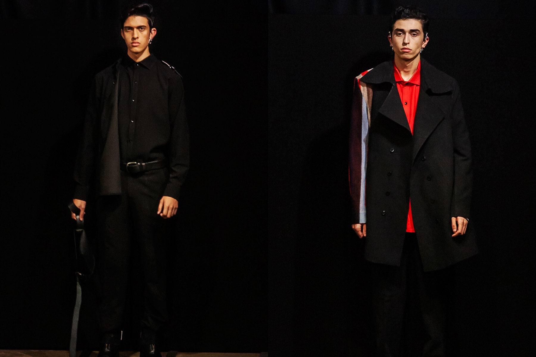 The Tokyo James Spring/Summer 2020 menswear show at London Fashion Week Men. Ponyboy magazine.