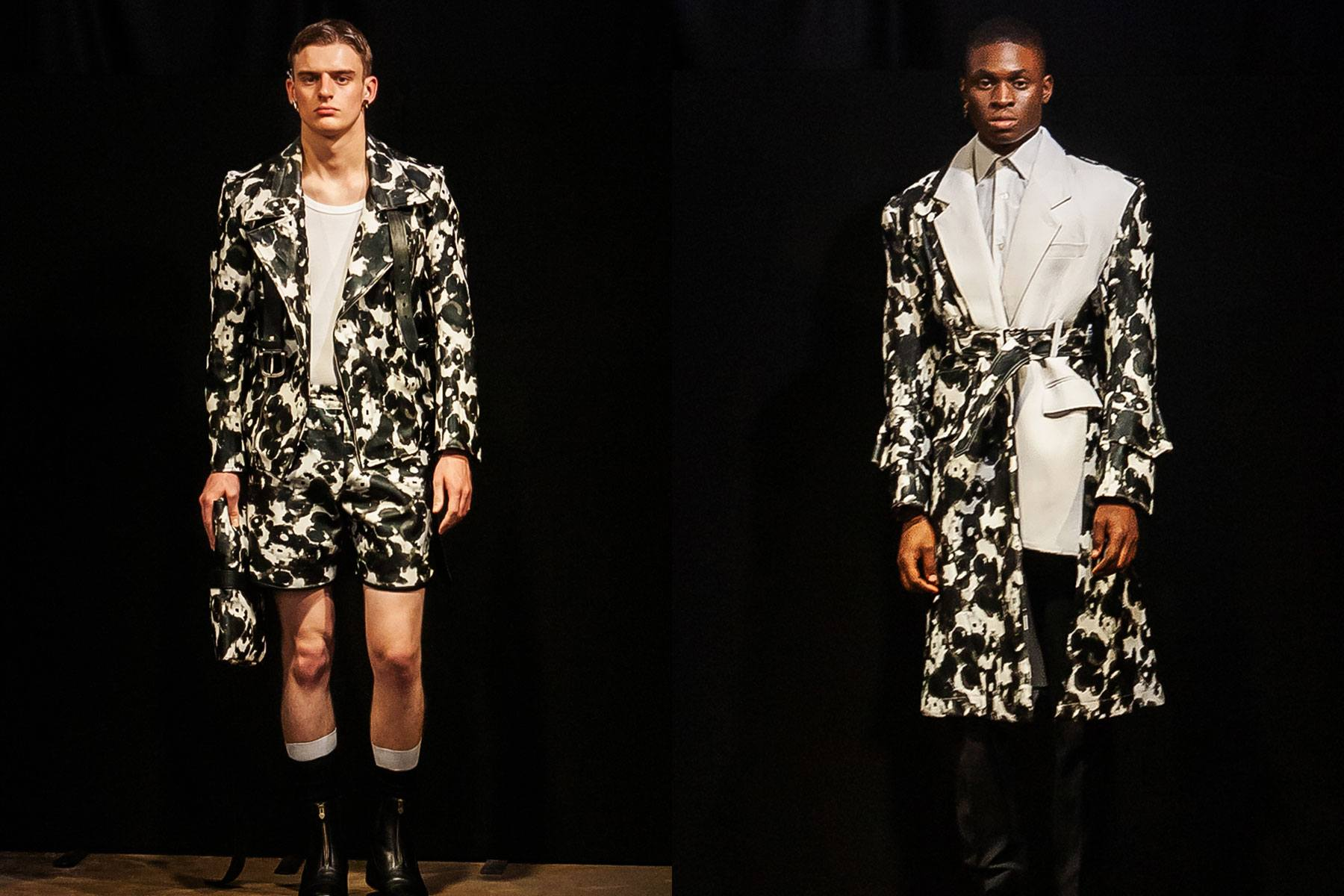 Tokyo James Spring/Summer 2020 menswear show at London Fashion Week Men. Ponyboy magazine.