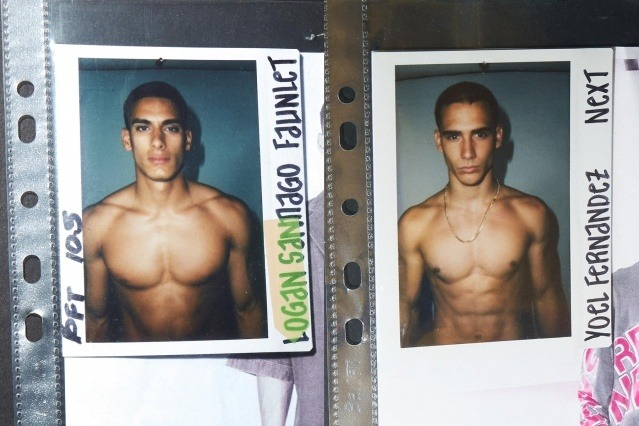 Models from the Willy Chavarria Spring/Summer 2020 menswear show. Ponyboy magazine.