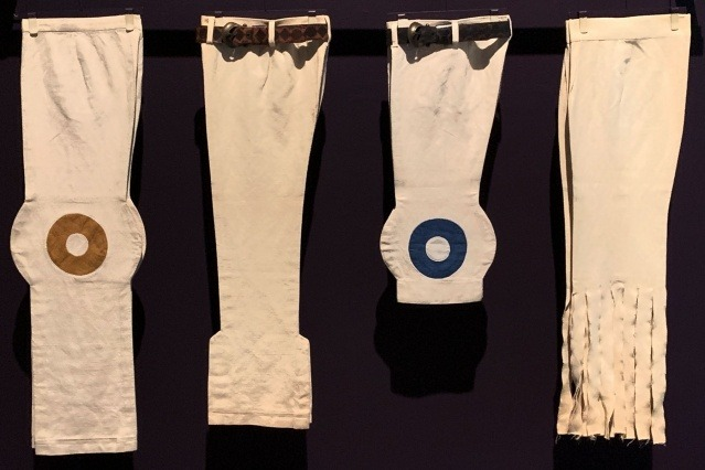 Vintage Pierre Cardin men's trousers at the Brooklyn Museum. Photographed by Alexander Thompson for Ponyboy magazine.