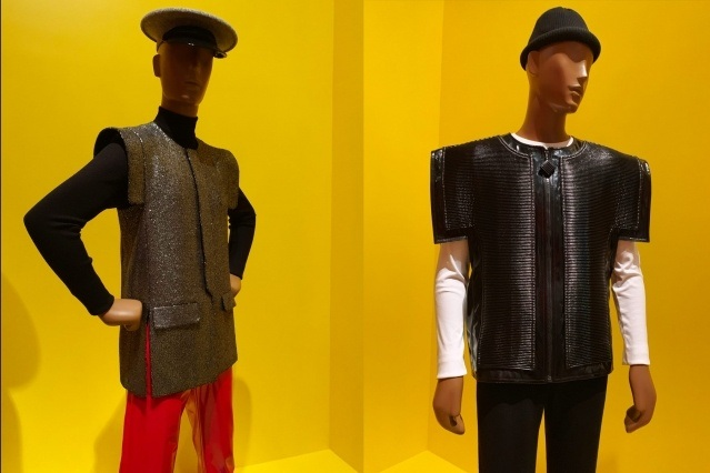 Vintage Pierre Cardin menswear at the Brooklyn Museum. Photography by Alexander Thompson for Ponyboy magazine.