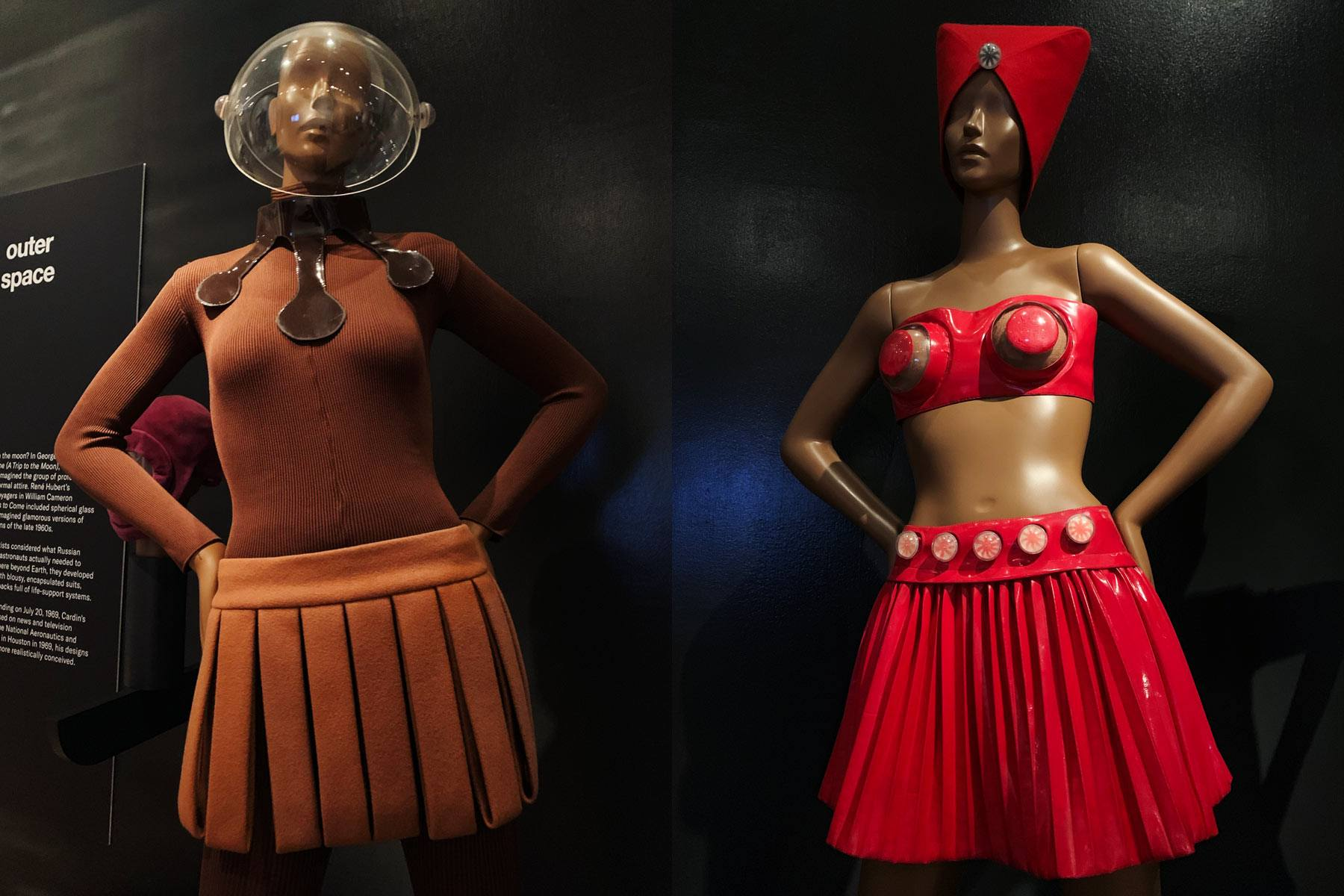 Future Fashion: Pierre Cardin exhibit at the Brooklyn Museum. Photography by Alexander Thompson for Ponyboy magazine.