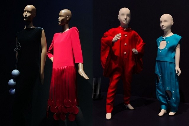 Vintage Pierre Cardin children's fashion at the Brooklyn Museum. Photographed by Alexander Thompson for Ponyboy magazine.
