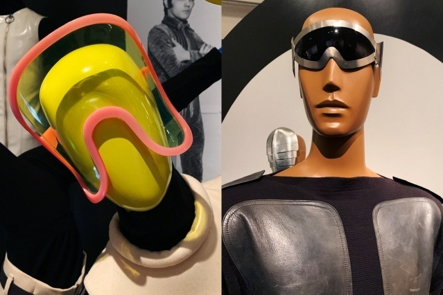 Vintage Pierre Cardin eyewear at the Brooklyn Museum. Photographed by Alexander Thompson for Ponyboy magazine.