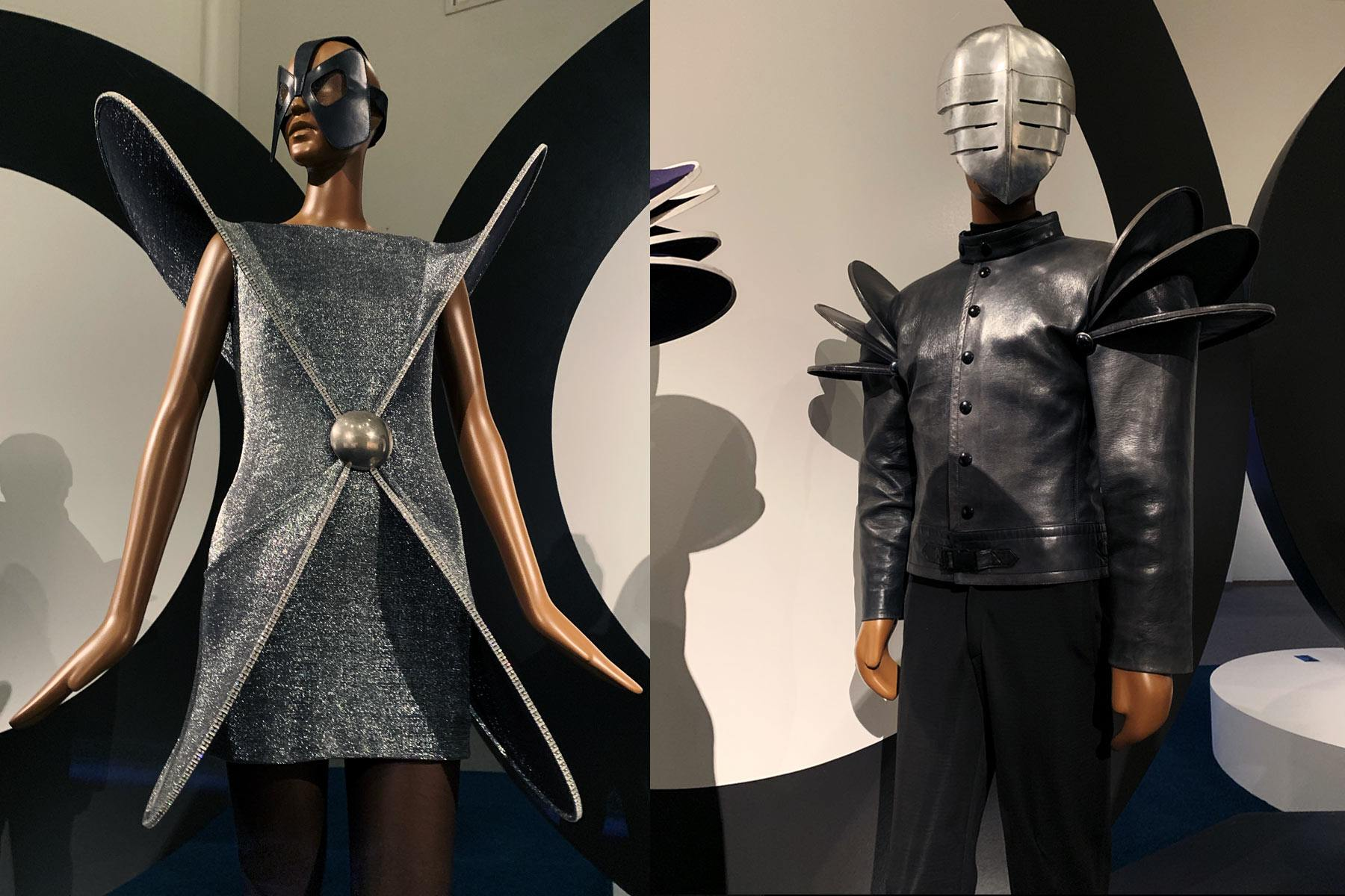 Vintage Pierre Cardin avant garde fashion at the Brooklyn Museum. Photographed by Alexander Thompson for Ponyboy magazine.