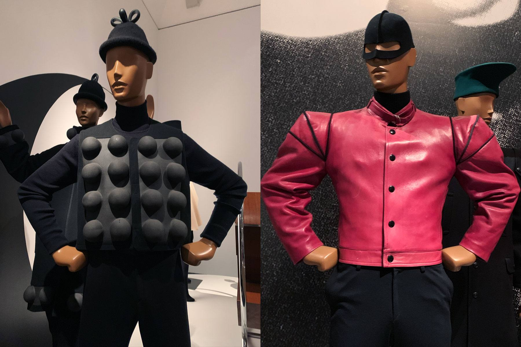 Vintage Pierre Cardin menswear at the Brooklyn Museum. Photographed by Alexander Thompson for Ponyboy magazine.