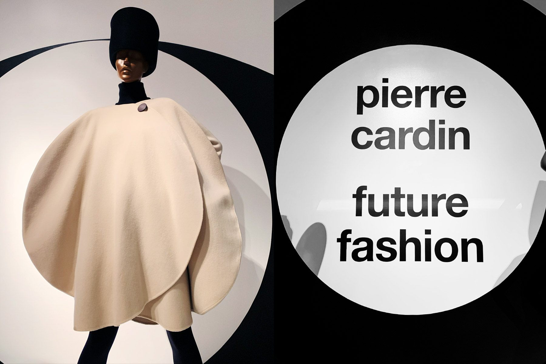 Future Fashion: Pierre Cardin exhibit at the Brooklyn Museum. Photographed by Alexander Thompson for Ponyboy magazine.