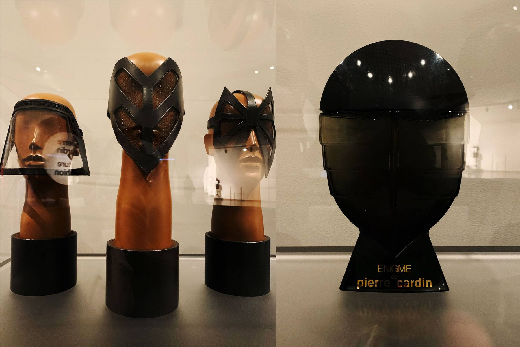 Vintage Pierre Cardin men's headwear at the Brooklyn Museum. Photographed by Alexander Thompson for Ponyboy magazine.