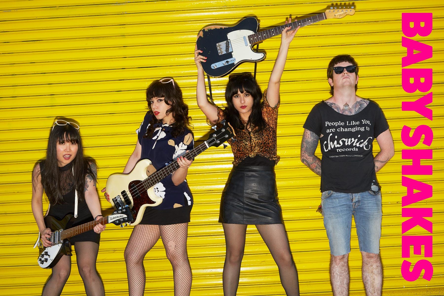 Babyshakes band from New York City. Photography by Alexander Thompson for Ponyboy magazine.
