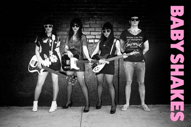 Babyshakes band from New York. Photography by Alexander Thompson for Ponyboy magazine.