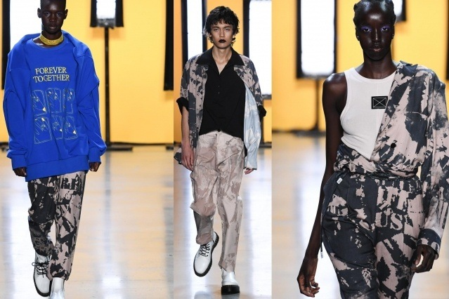 Young models walk the runway for Dirty Pineapple S/S 2020. Ponyboy magazine.