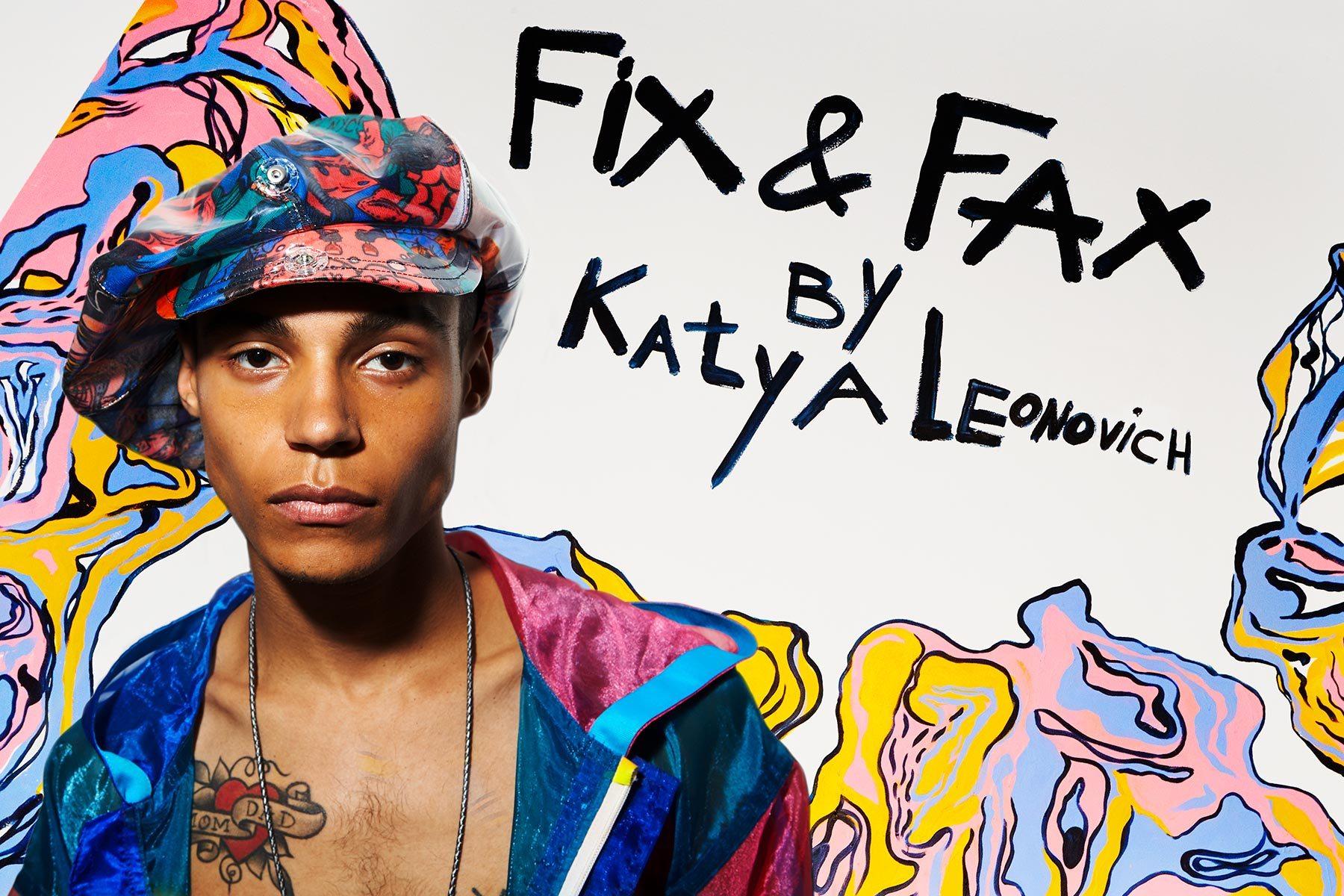 Fix & Fax by Katya Leonovich. Spring 2020. Photography by Alexander Thompson for Ponyboy magazine.