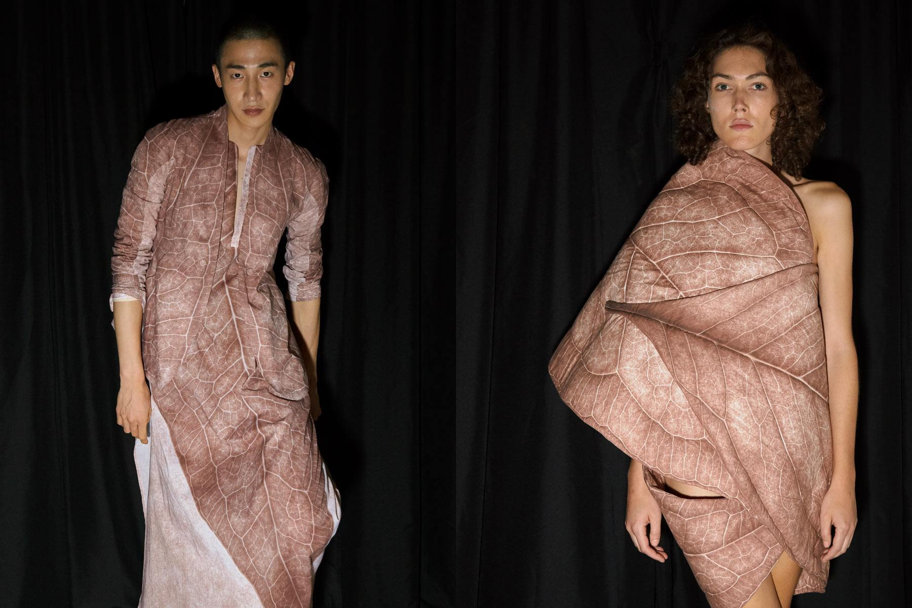 Models snapped backstage at the threeASFOUR Spring/Summer 2020 runway show in New York. Photographed by Alexander Thompson for Ponyboy magazine.