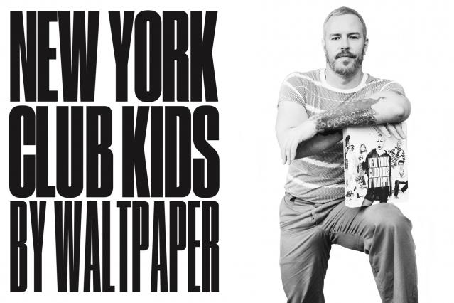 New York City artist Walt Cassidy photographed at his studio for Ponyboy magazine by Alexander Thompson.