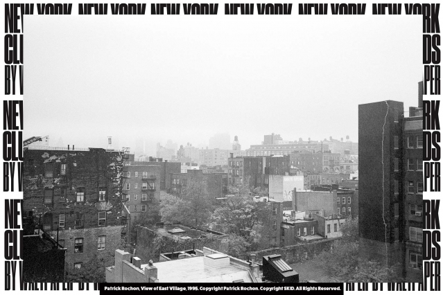 View of East Village, 1995. Photograph by Patrick Rochon. Courtesy of New York Club Kids by Waltpaper. Ponyboy magazine.