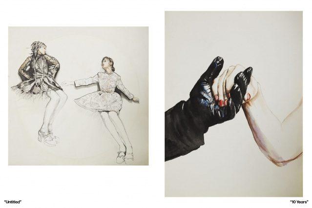 Artwork by New York City artist Sophie Thunder-Murphy. Ponyboy magazine.