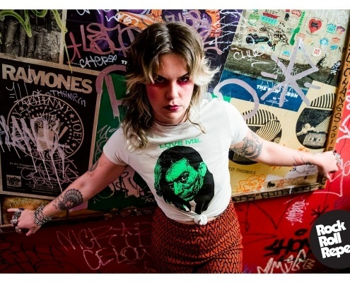 Caroline Anderson photographed by Stacy Bucks for Rock Roll Repeat.