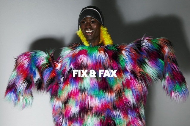 Fix & Fax menswear for Fall 2020. Photography by Alexander Thompson for Ponyboy magazine.