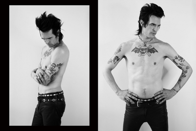 Chuck Bones from the Trash Bags photographed by Alexander Thompson for Ponyboy magazine in New York City.