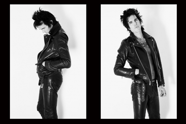 Chuck Bones from the Trash Bags photographed by Alexander Thompson for Ponyboy magazine New York.
