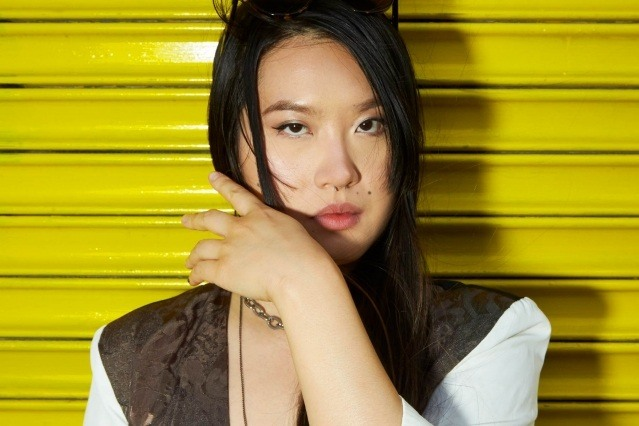 Portrait of GIRL SKIN musician Ruby Wang. Photography by Alexander Thompson for Ponyboy magazine.
