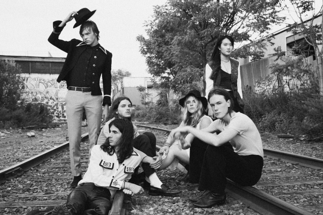 GIRL SKIN band photographed in Brooklyn. Photography by Alexander Thompson for Ponyboy magazine.