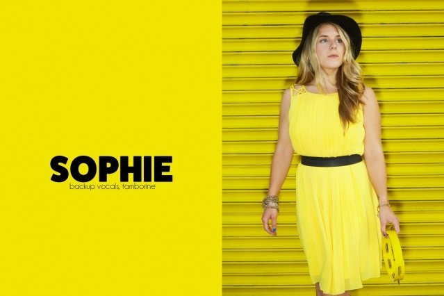 Backup singer Sophie Cozine from GIRL SKIN. Photography by Alexander Thompson for Ponyboy magazine.