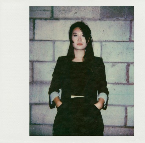 Polaroid of Ruby Wang by Alexander Thompson for Ponyboy magazine.