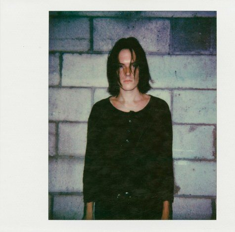 Polaroid of Sid Simons by Alexander Thompson for Ponyboy magazine.
