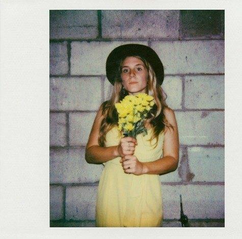 Polaroid of Sophie Cozine by Alexander Thompson for Ponyboy magazine.