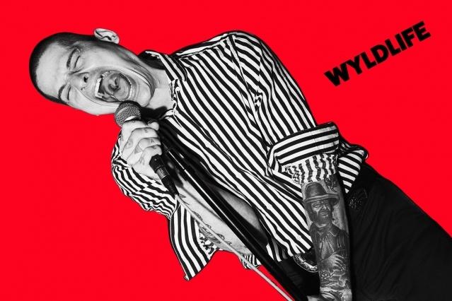 WYLDLIFE singer Dave Feldman, photographed in New York City by Alexander Thompson for Ponyboy magazine.