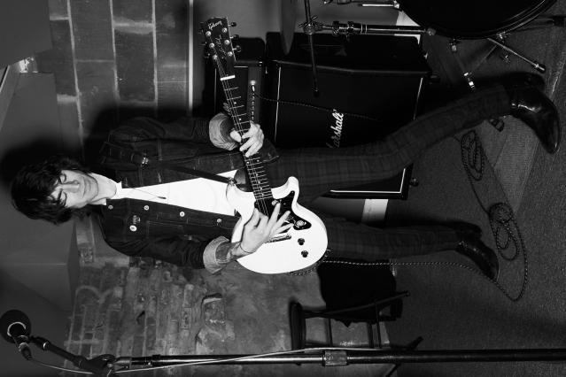 WYLDLIFE guitarist Samm Allen photographed by Alexander Thompson for Ponyboy magazine.