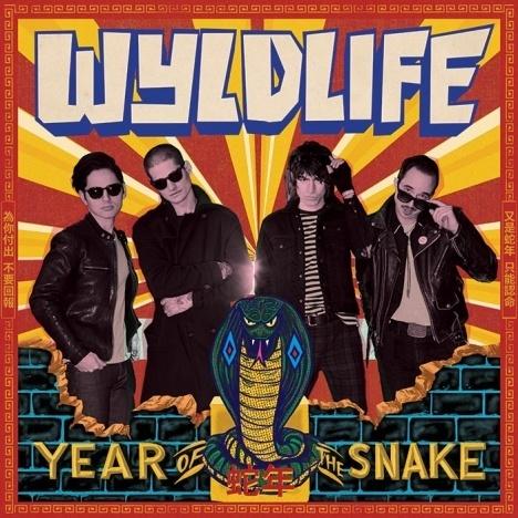 WYLDLIFE album artwork, Year of the Snake. Ponyboy magazine.