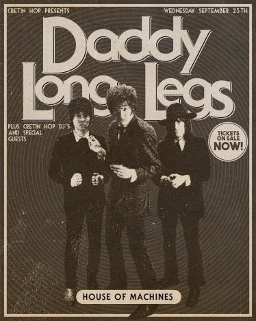 DADDY LONG LEGS flyer. Ponyboy magazine.