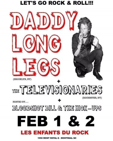 DADDY LONG LEGS artwork. Ponyboy magazine.