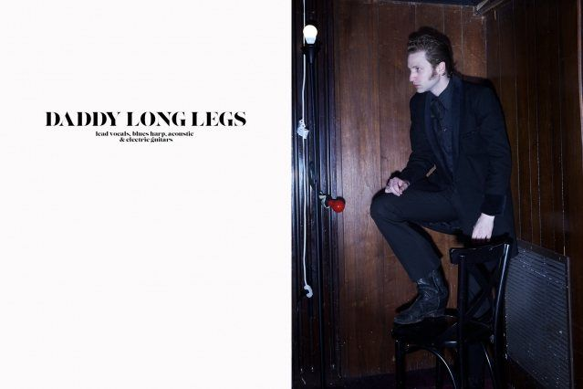 Brian Hurd (a.k.a DADDY LONG LEGS) photographed by Alexander Thompson for Ponyboy magazine.