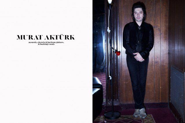 Portrait of guitarist Murat Aktürk from DADDY LONG LEGS. Photographed by Alexander Thompson for Ponyboy magazine.